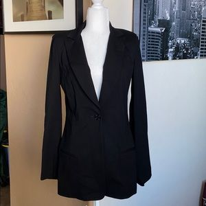 Gorgeous 7 For All Mankind Long Blazer